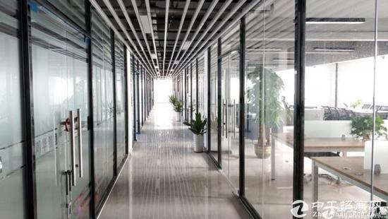 深圳南山科技园大小面积可自由组合精装修写字楼出租55平起租
