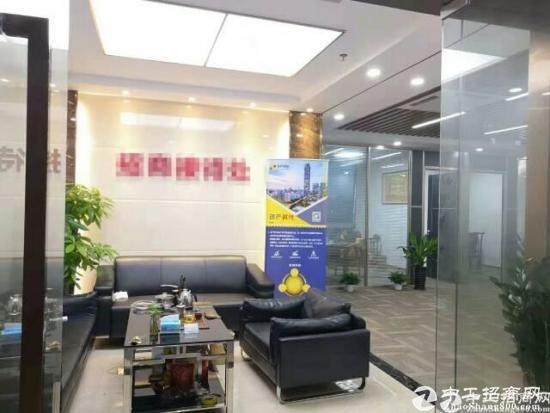 南山西丽高薪大厦出租精装办公室98平方
