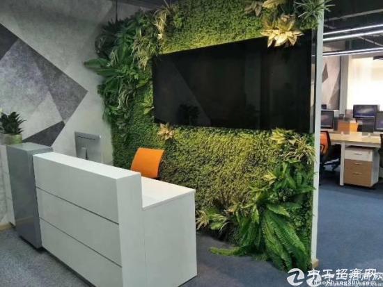 深圳地铁口带办公家私豪华装修173平出租