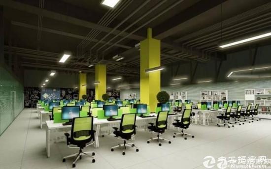 观澜镇高速出口精装修70平写字楼出租可注册国家级孵化空间