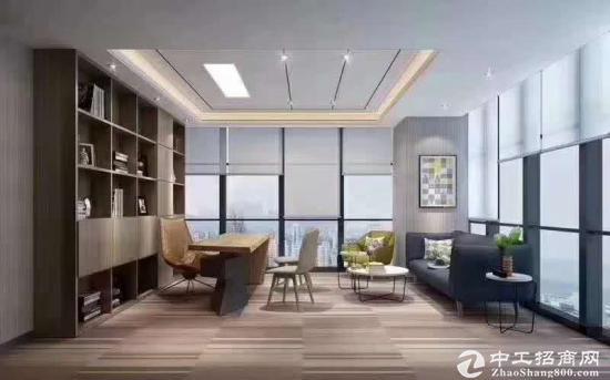 布吉地铁口全新花园带装修办公室招租大小分租