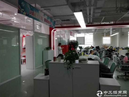 浦东金桥自贸区9号线地铁口成熟园区半层带装修图片1