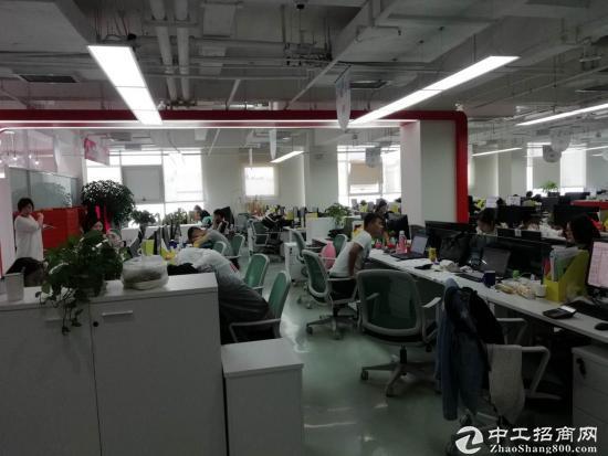 浦东金桥自贸区9号线地铁口成熟园区半层带装修图片2