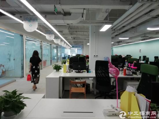 浦东金桥自贸区9号线地铁口成熟园区半层带装修图片5