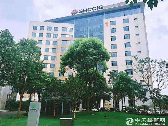 地铁2号线500米张江矽岸国际精装修写字楼3.9元图片5