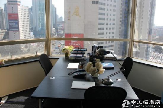 香港中路时代广场55平6人办公房租补贴