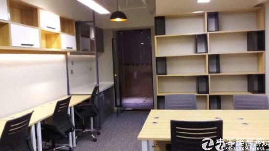 龙岗中心地铁口560平精装修写字楼开发商直租