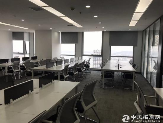 《汉街总部国际》199平精装带家具,高区办公视野开阔,拎包入住。图片7