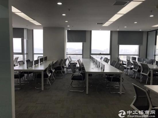 《汉街总部国际》199平精装带家具,高区办公视野开阔,拎包入住。图片6