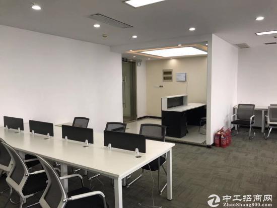 《汉街总部国际》199平精装带家具,高区办公视野开阔,拎包入住。图片8