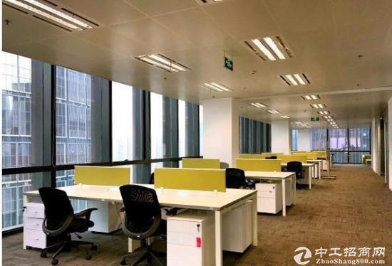 武汉606中心旁《绿地楚峰》500平精装带家具,拎包入住,一线江景图片2