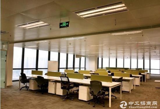 武汉606中心旁《绿地楚峰》500平精装带家具,拎包入住,一线江景图片5