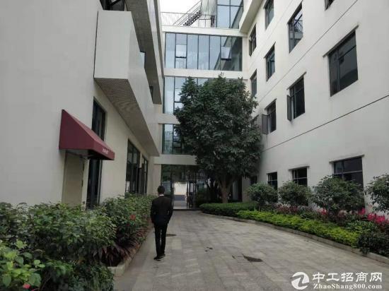 横岗新处写字楼800平方价格40元永湖地铁站