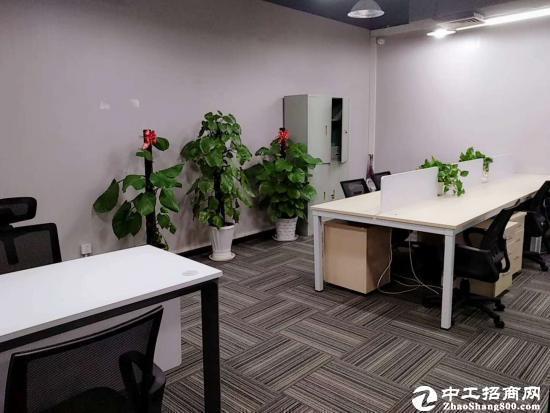 横岗地铁附近380平精装修办公室出租低至40元图片2