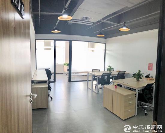 南山前海纯写字楼豪华装修拎包办公室可前海实体地址托管红本凭证