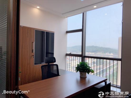 横岗永湖地铁站标准写字楼1200平大小可分租50平起