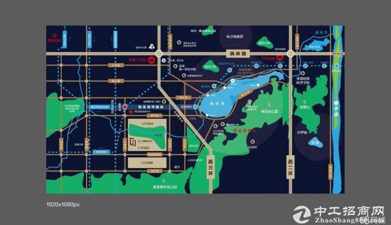 亿达梅溪湖智慧科技中心,双地铁口生态办公楼