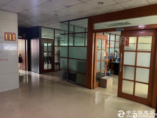 横岗力嘉工业区楼上精装现成办公室400平招租