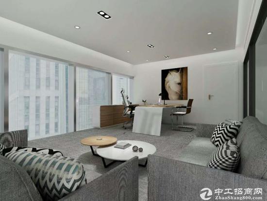 有红本,地铁口,天贵大厦精装办公室390平可直接入驻