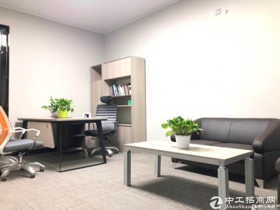 平湖华南城写字楼1000平带装修办公室出租