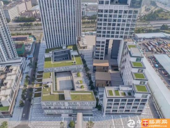 开发商直租松岗地铁口2万平红本写字楼100平起招租精装甲级写字楼出租