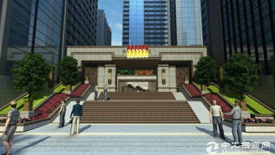 松岗高速出口开发商2万平独立红本写字楼200平起售50年产权首付三成