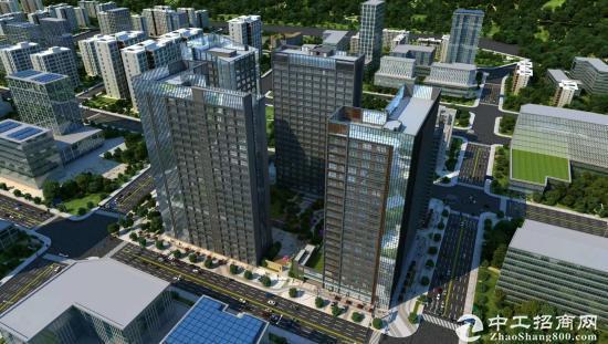 开发商直售松岗23600平全新红本写字楼109本房产证50年产权按揭
