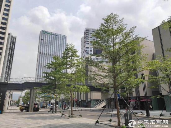 松岗地铁口2万平红本甲级写字楼200平起出租精装写字楼招租开发商直租