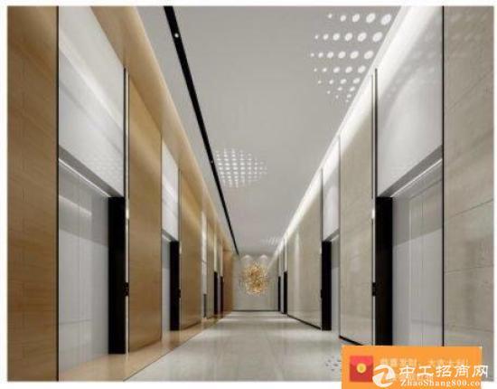开发商直租松岗地铁口2万平红本甲级写字楼出租200平起精装写...