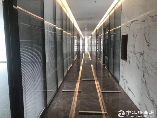 深圳北,观澜地铁口高端国际大厦精装办公室出租