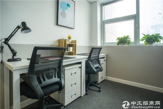 新闻中心2-3人办公室出租拎包办公