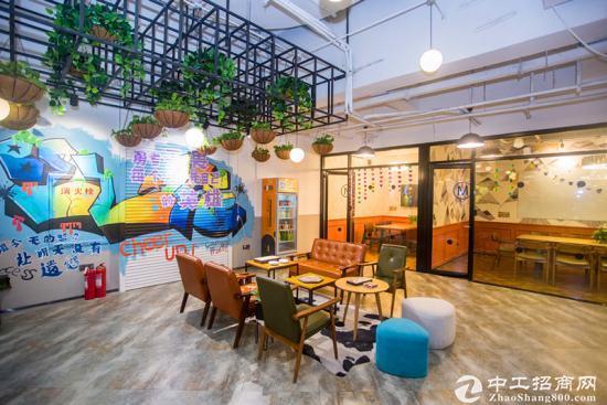 香港中路可申领上万元补贴的办公室