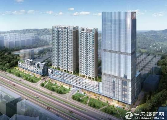 地铁口128-1100平方现楼70年产权独立红本甲级写字楼开发商直售