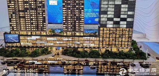 深圳宝安中心高档写字楼,70年产权不限购不限贷,可按揭,130方起分
