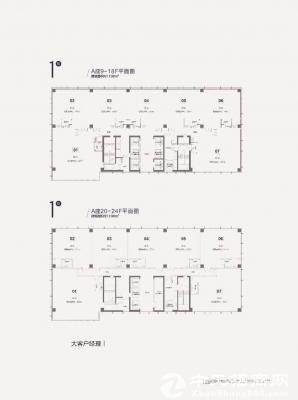 大朗东莞一手独栋写字楼,红本五十年产权可首付三成近地铁口万达广场