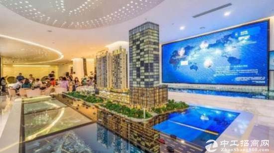 宝安地铁口品牌开发商碧桂园70年产权甲级写字楼128平起独立...