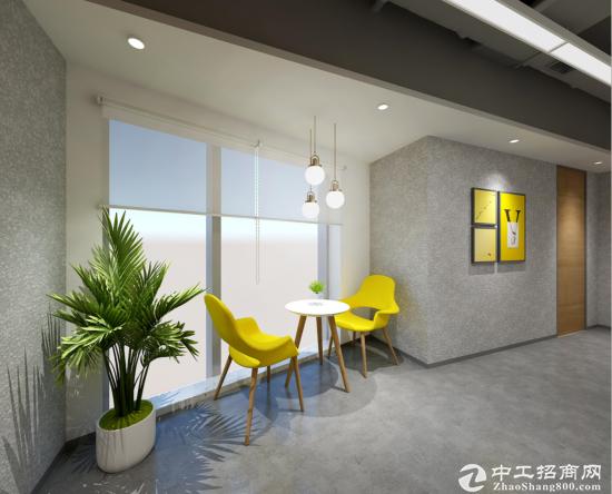 东城广渠门内办公室价格优惠落地窗带家具会议室非中介