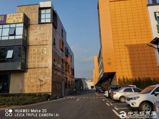 宝安大道福永地铁站附近产业园独栋办公楼2500平大小可分租