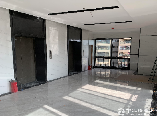 龙岗丹竹头地铁站新盘精装办公室60平起租图片4