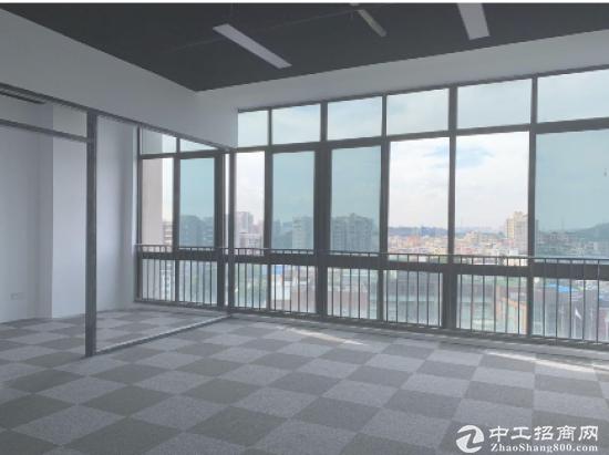 龙岗丹竹头地铁站新盘精装办公室60平起租图片7