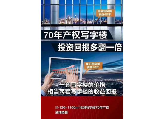 深圳一手A级写字楼出售70年产权 不限购图片7