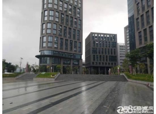 总部甲级写字楼独栋8500平,红本产权,实用率超高,可补贴