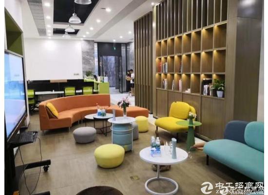 广州黄埔鱼珠地铁口新出200平创意园现成家私家电办公室招租