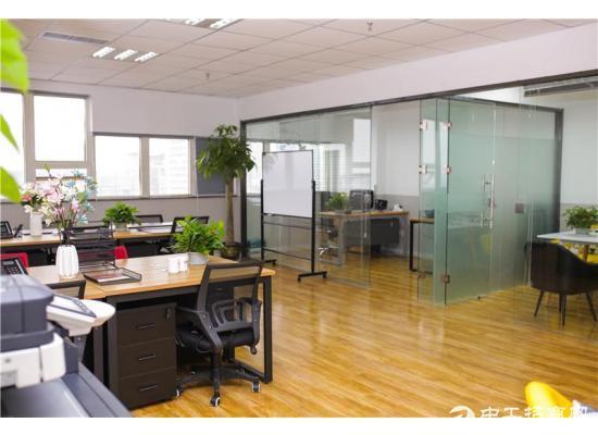 短租办公室,低至600元,可押一付一,30~160平任选图片3