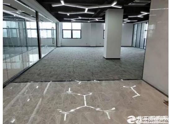 深圳南山西丽地铁口精装修 带隔间98平写字楼招租图片2