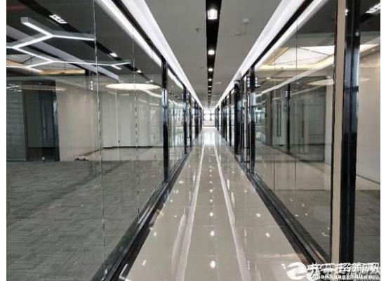 深圳南山西丽地铁口精装修 带隔间98平写字楼招租图片5