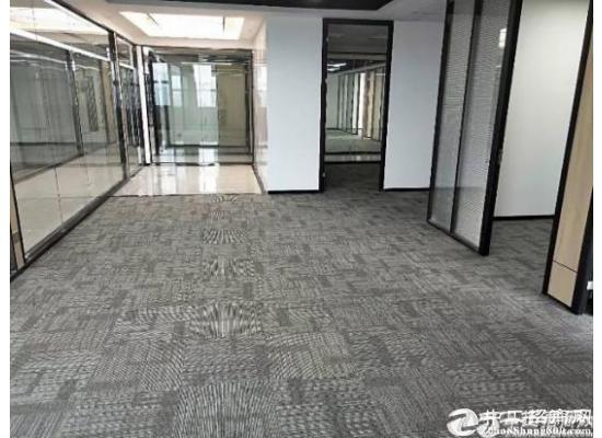 南山西丽地铁口附近精装修 带隔间98平写字楼招租