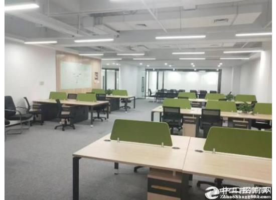 西丽地铁口30-320平甲级写字楼精装修带办公家私特价出租