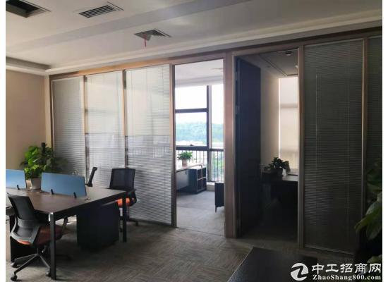 横岗塘坑地铁附近华润万家6楼精装修写字楼30平米出租图片5