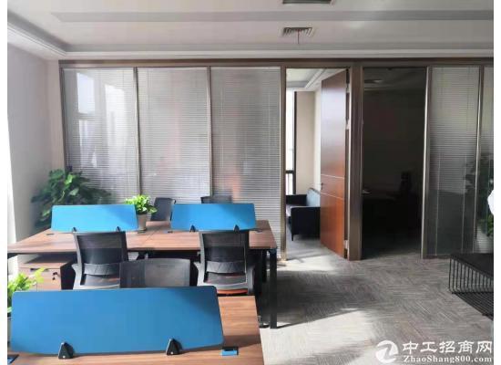 横岗塘坑地铁站华润万家6楼精装修写字楼50平米出租图片2